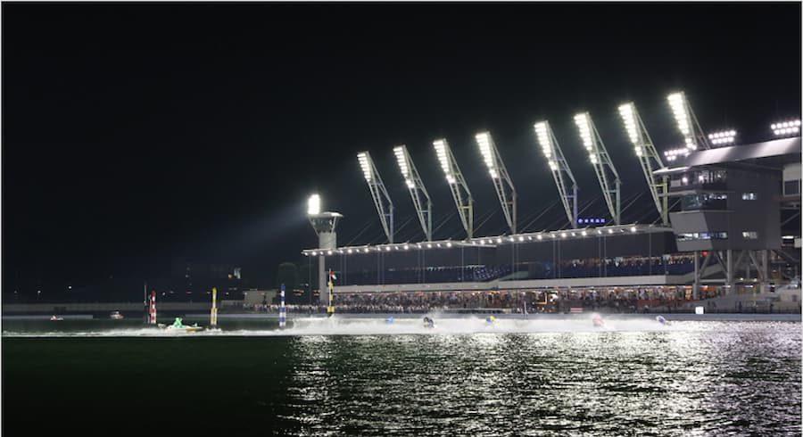 ナイターレース会場の画像||競艇予想サイト 口コミ 評価 評判 検証 当たる 当たらない