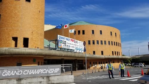 下関競艇場の画像