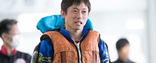 林美憲選手のレース着の写真